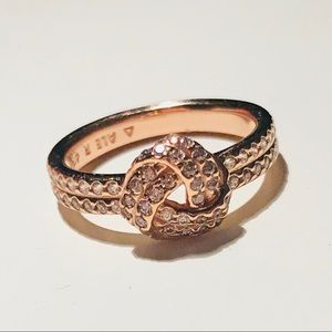 Pandora Love Knot Rose Gold Ring in Size 48